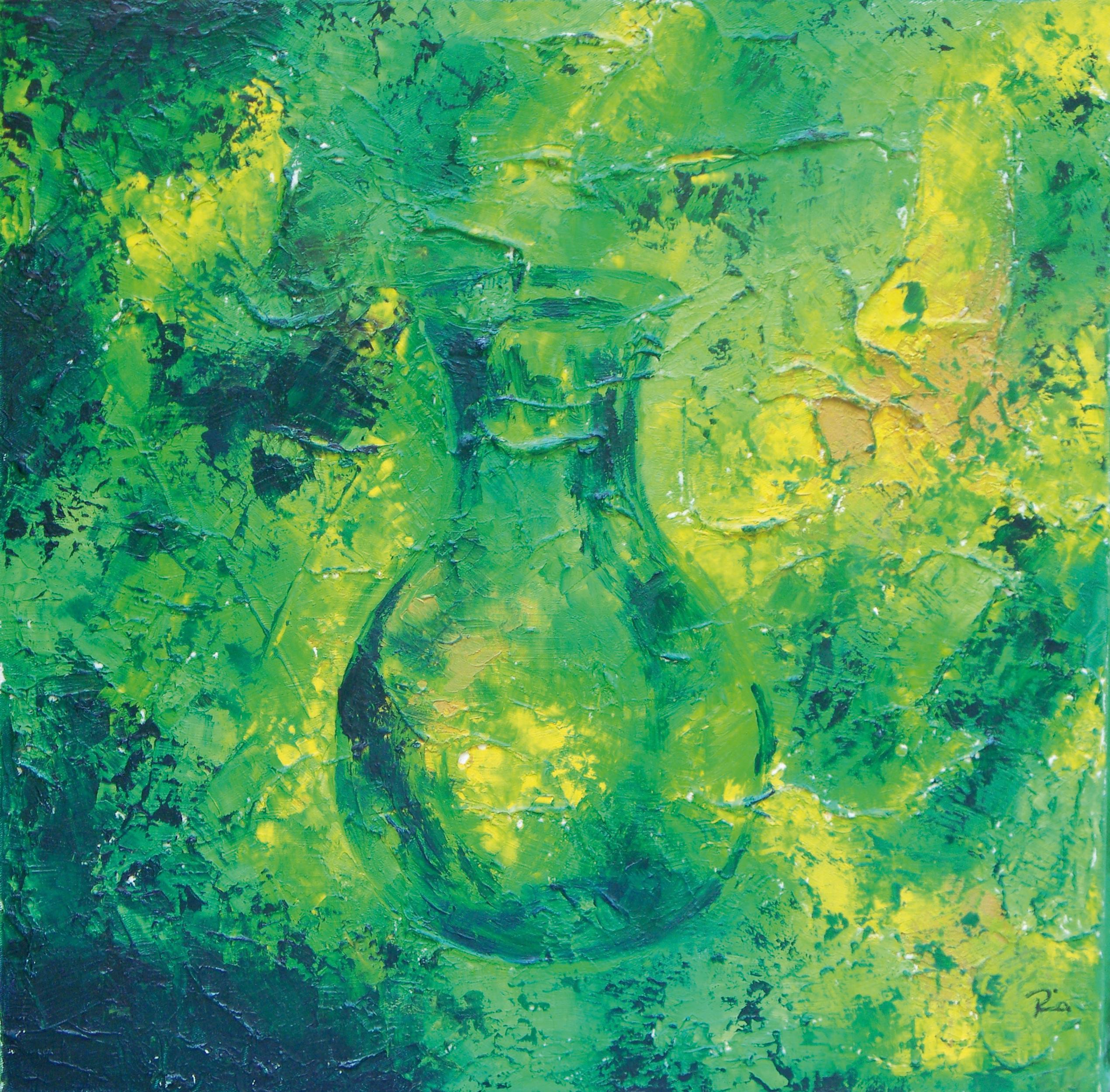 Flasche grün