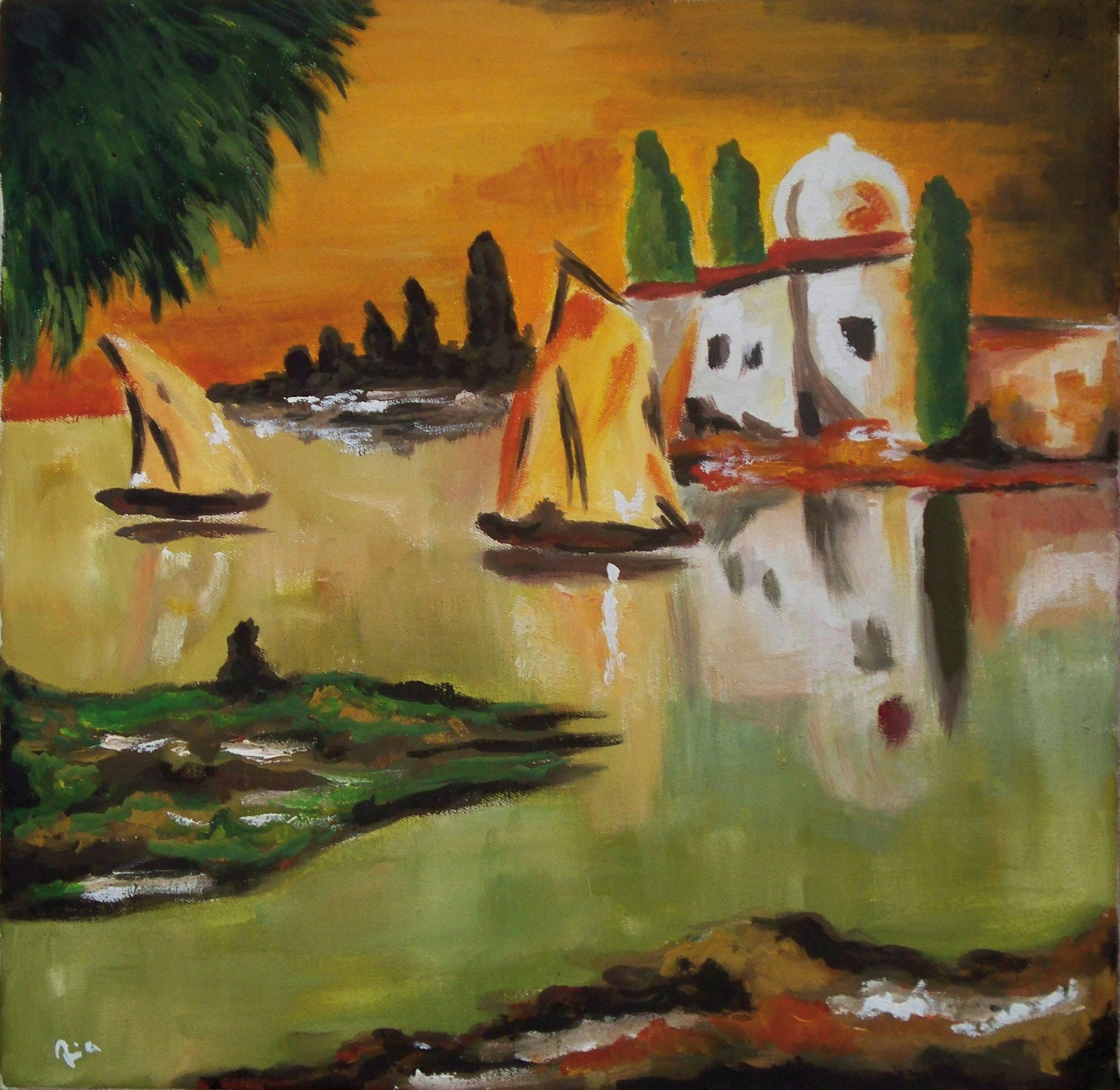 Arabische Landschaft II