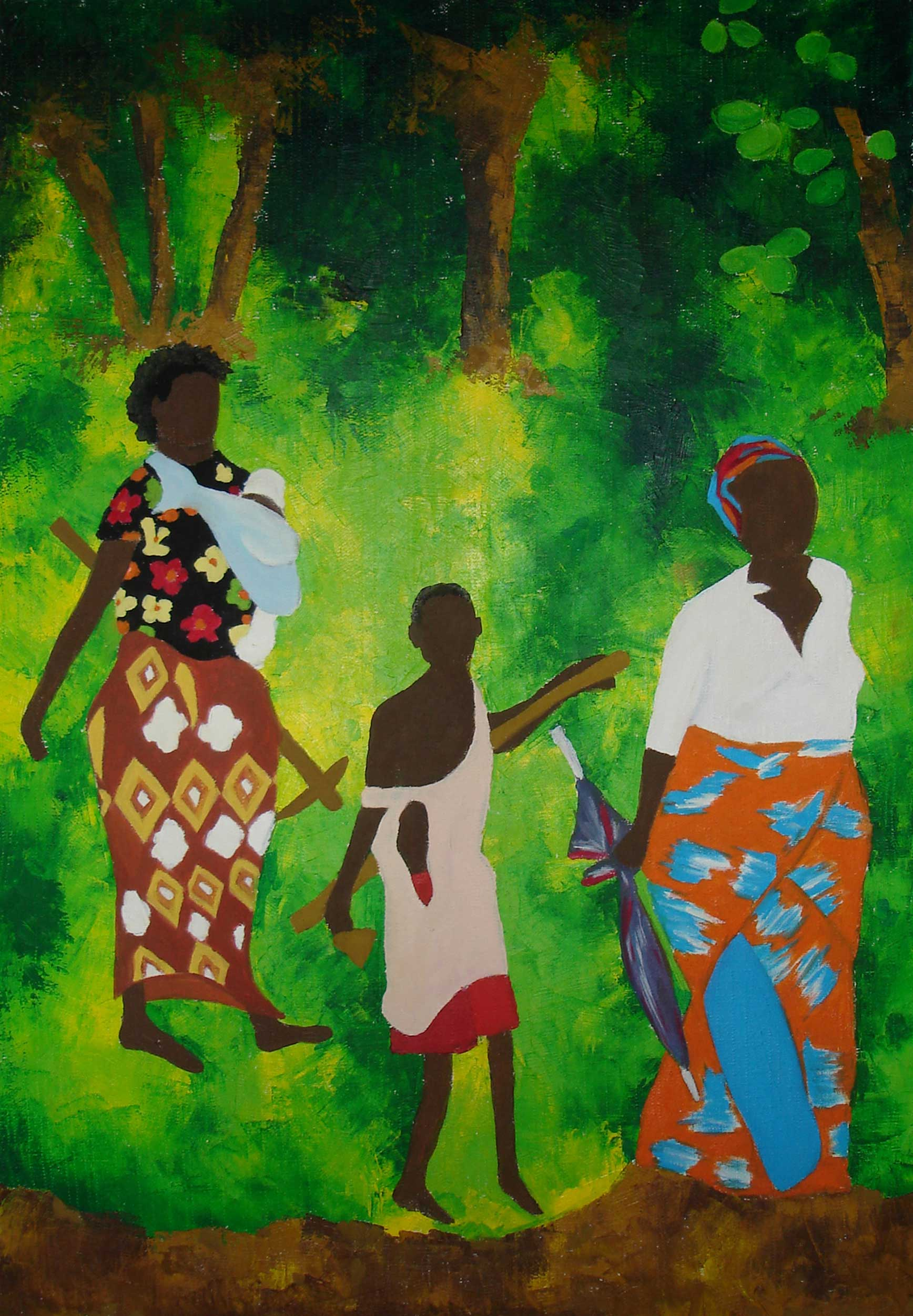 Afrikaimpressionen III - Rima Meyendorf