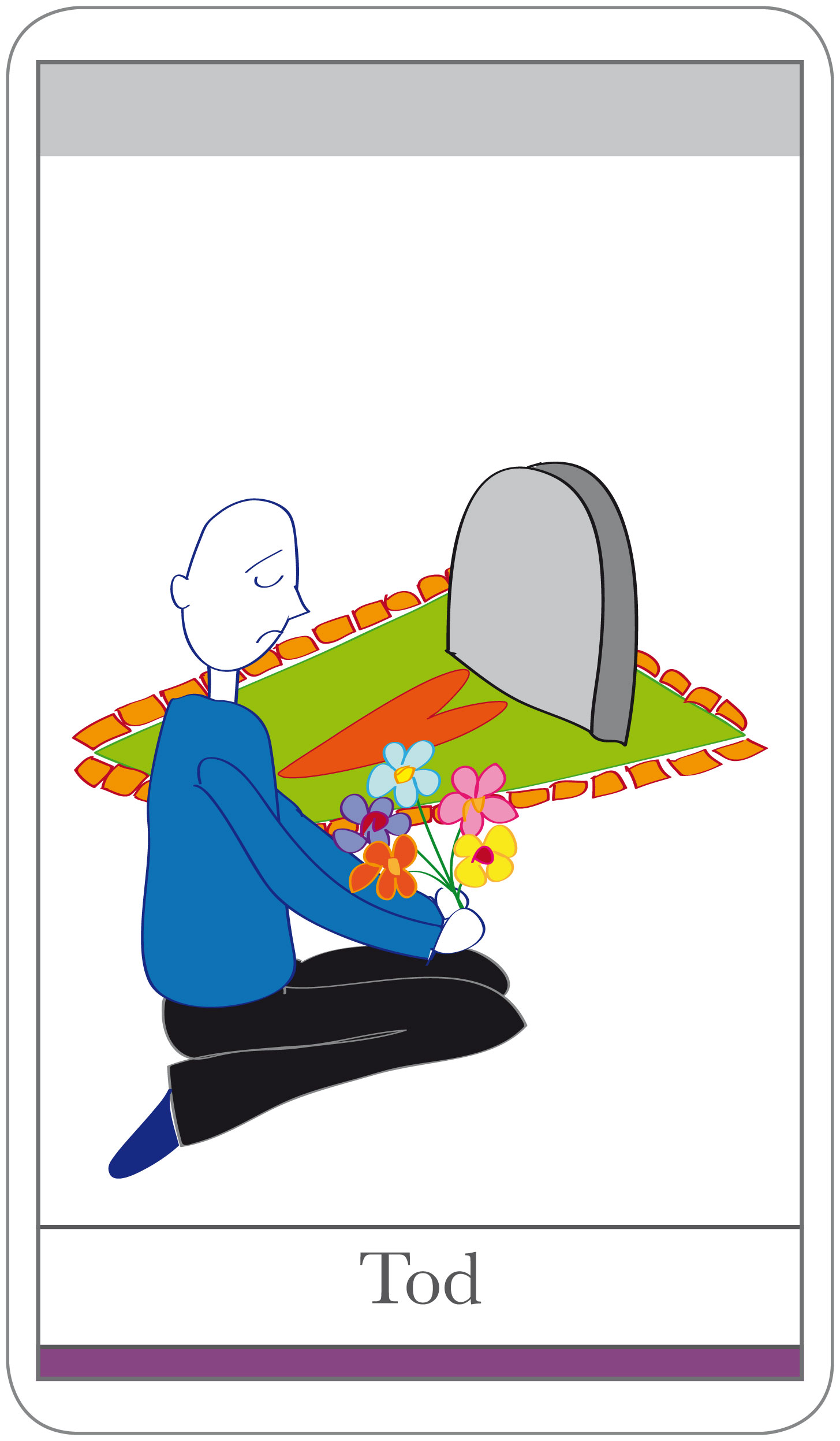 Karten Beziehung: Thema Tod