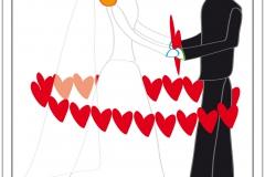 Karten Beziehung: Thema Ehe