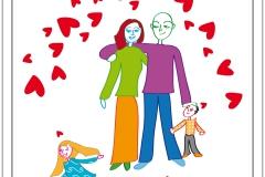 Karten Beziehung: Thema Familie
